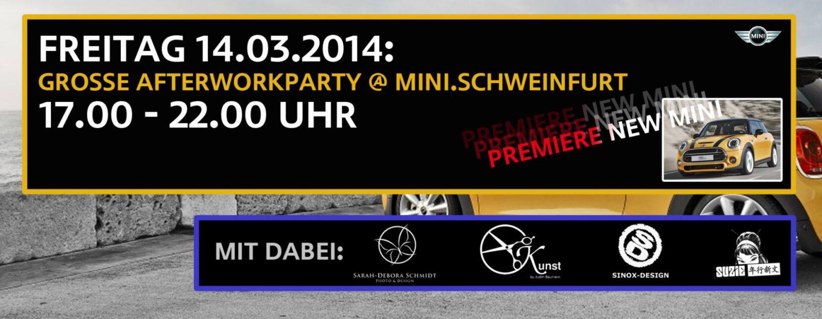 Afterworkparty im Autohaus BMW Rhein Schweinfurt